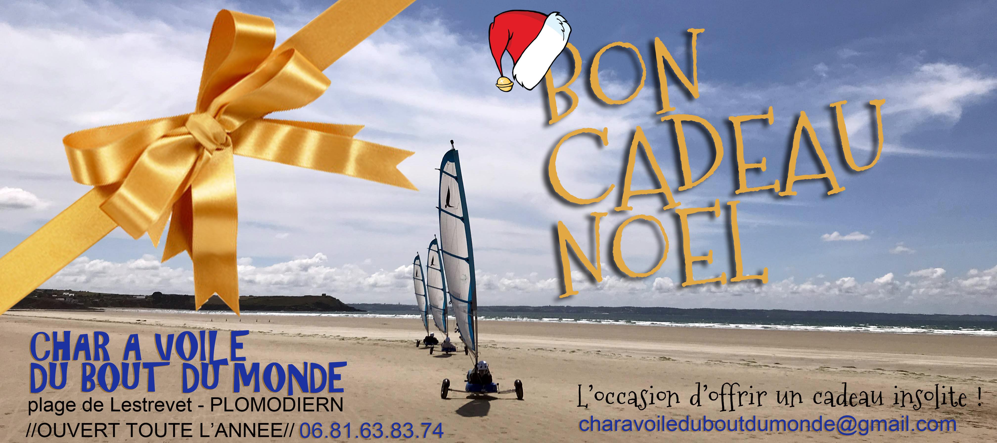 Bon Cadeau De Noel Char A Voile Du Bout Du Monde